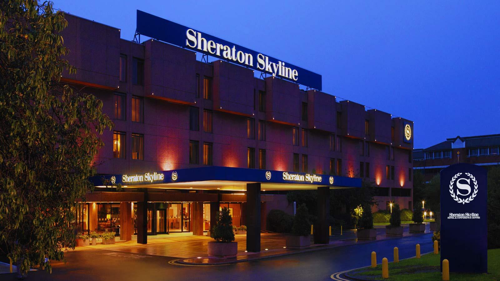 Sheraton Skyline Hotel London Heathrow United Kingdom Flyin