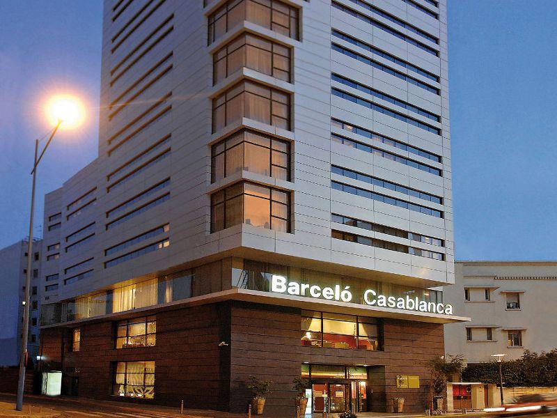 Idou anfa hotel spa casablanca morocco for Barcelo paris hotels